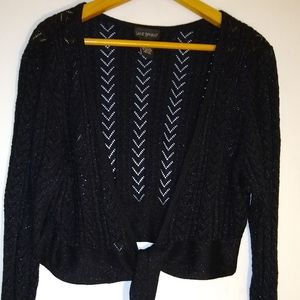 Lane Bryant Cropped Knitted Cardigan